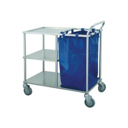 Cart for marking up bed and nursing